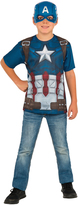 Rubie's Costume Co Captain America Dress-Up Tee & Mask - Kids