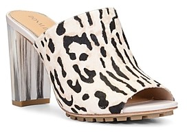 Donald J Pliner Women's Sukari Slip On High Heel Mules
