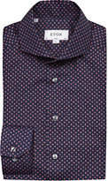 Eton Floral-print cotton shirt