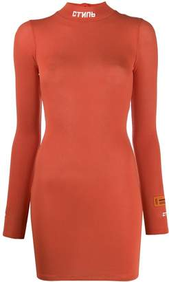 Heron Preston stretch jersey dress