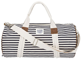 Denim Stripe Duffel Bag