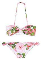 Dolce & Gabbana Rose Bianco Bikini