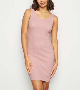 New Look Ribbed Mini Bodycon Dress