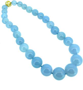 Arthur Marder Fine Jewelry Silver Chalcedony Necklace
