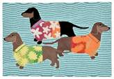 Liora Manné Trans Ocean Imports Frontporch Tropical Hounds Indoor Outdoor Rug