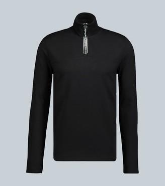 Acne Studios Ellington half-zipped sweatshirt