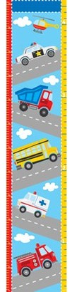 Brewster Home Fashions WallPops Transportation Growth Chart Decal