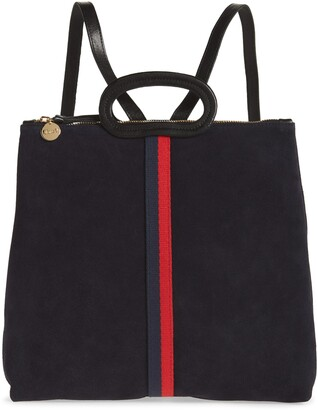 Clare Vivier Marcelle Suede Tote Backpack