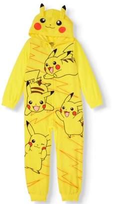 Pokemon Boy's Pajama Blanket Sleeper (Little Boy & Big Boy)