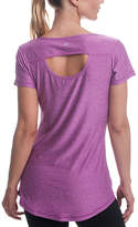 Gaiam Striking Purple Heather Energy Tee