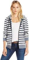 Threads 4 Thought Women's Brynn Vintage Wash Stripe Fleece Zippie