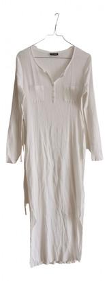 Cacharel White Cotton Dresses