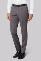 Hardy Amies Tailored Fit Light Grey Nailhead Pants