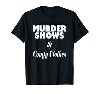 True Crime Gifts Murder Shows and Comfy Clothes Murderino True Crime T-Shirt