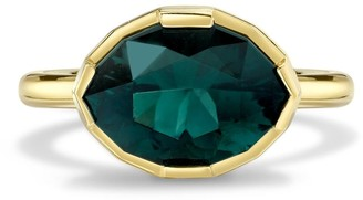 Andy Lif Sea Foam Tourmaline Diamond Ring
