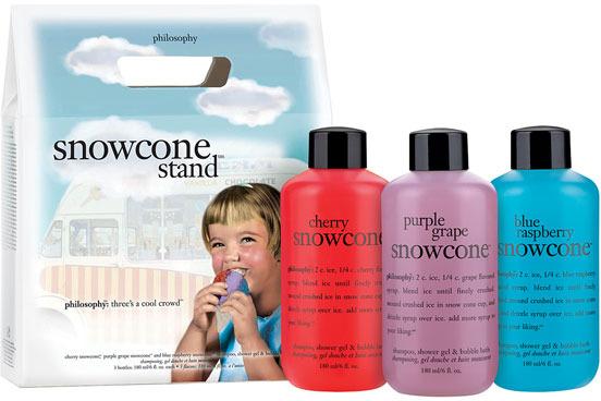 philosophy 'snowcone stand' shampoo, shower gel & bubble bath set ($25 Value)