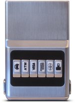 acm wallet ACM RFID Customizable Wallet Unisex Organizer Synthetic
