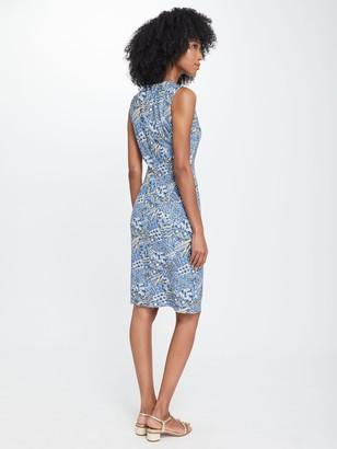 J.Mclaughlin Devon Sleeveless Dress in Talavera