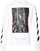 Off-White Diag Caravaggio hoodie - men - Cotton - S