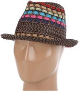 Steve Madden Fiesta Fedora (Black) - Hats