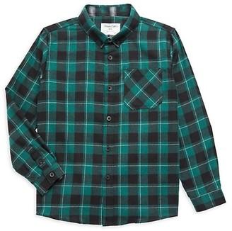 Sovereign Code Boy's Plaid Cotton-Blend Shirt