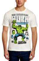 Logoshirt Men's Marvel - Hulk - The Eve Of ... Crew Neck Short Sleeve T-Shirt