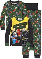 LICENSED PROPERTIES 4-pc. DC Comics Super Heroes Pajama Set- Boys 4-10
