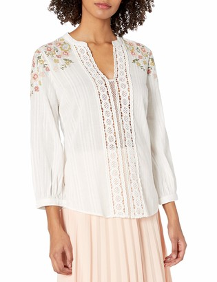 Plenty by Tracy Reese Women's Embroidered Kurta