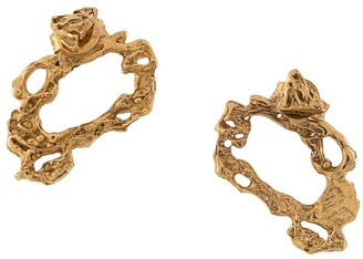 LOVENESS LEE Austro textured-style earrings