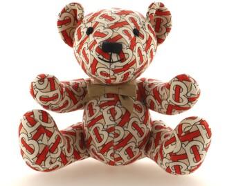 Burberry Thomas The Bear Toy TB Monogram Wool
