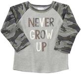 Mud Pie Never Grow Up Long Sleeve Shirt Boy's Clothing