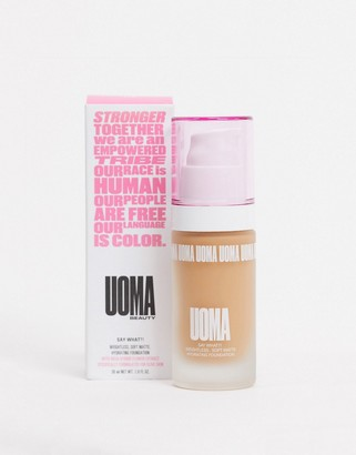 Uoma Beauty Say What?! Soft Matte Foundation Honey Honey