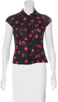 Moschino Cheap & Chic Moschino Cheap and Chic Printed Short Sleeve Top