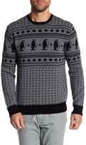 Michael Bastian Penguin Pattern Sweater