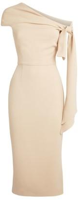 Roland Mouret Low-Shoulder Howe Dress