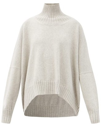 Petar Petrov Keaton Roll-neck Wool Sweater - Grey