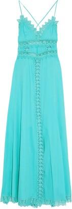Charo Ruiz Ibiza Imogen Crocheted Lace-trimmed Cotton-voile Maxi Dress