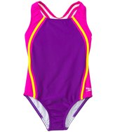 Speedo Girls' Sport Splice One Piece (7yrs16yrs) - 7535857