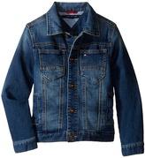 Tommy Hilfiger Dylan Knit Denim Jacket (Toddler/Little Kids)