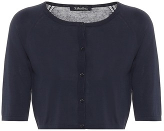S Max Mara Giochi cropped cotton cardigan