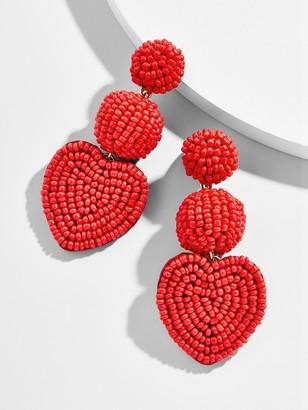 BaubleBar Vitina Heart Drop Earring