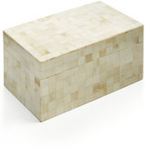 Global Goods Partners Mosaic Bone Box
