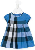Burberry house check dress - kids - Cotton - 12 mth