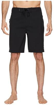 Hurley Phantom One Only 20 Stretch Boardshorts (Black) Men's Swimwear
