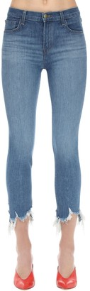 J Brand Ruby High Cigarette Stretch Denim Jeans