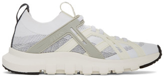 Ermenegildo Zegna White and Grey TechMerino Sneakers