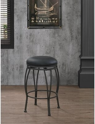 "American Heritage Romano Bar & Counter Swivel Stool Seat Height: Counter Stool (26"" Seat Height)"