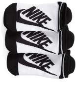 Nike Women's Stripe 3-Pack No-Show Socks