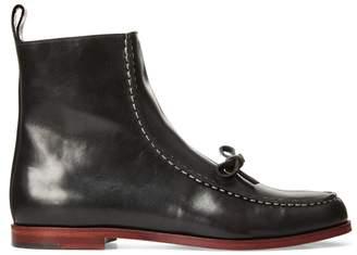 Ralph Lauren Delaney Leather Boot