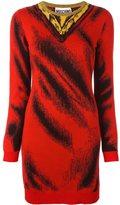 Moschino trompe-l'oeil jumper dress